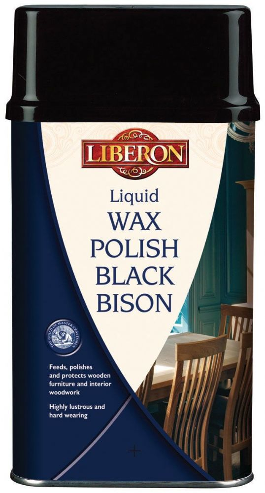 Liberon Bison Liquid Wax Georgian Mahogany